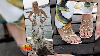 Celebrities With Ugly Feet: Paris Hilton, Shetty Shilpa, & Iman