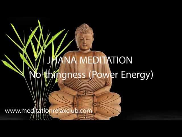 1 Hour Yoga Music Jhana Meditation for States of Consciousness: No-thingness (Power Energy)
