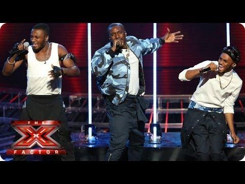 Rough Copy sing Don't Let Go by En Vogue - Live Week 7 - The X Factor 2013