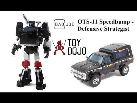 Transformers BadCube OTS-11 Speedbump (Trailbreaker) - Defensive Strategist