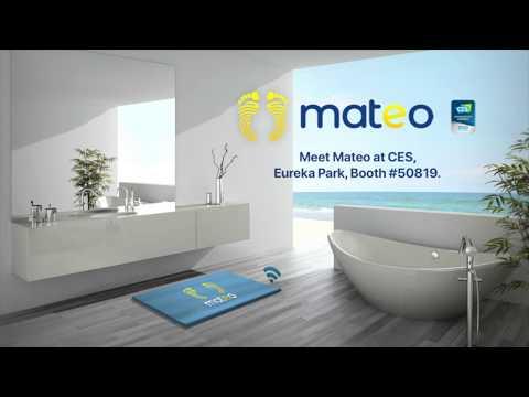 Mateo - The smart bathroom mat