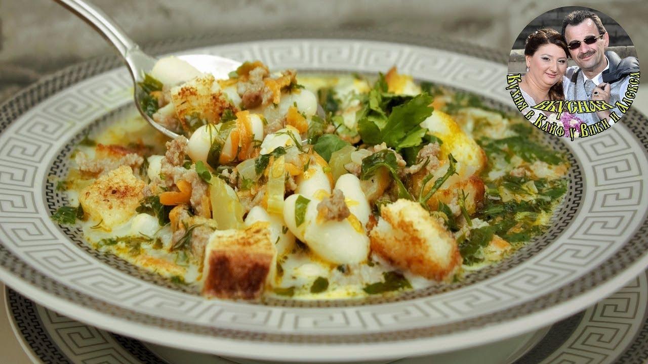 Необычный суп из фарша за 30 минут. Очень вкусно. Простой рецепт.