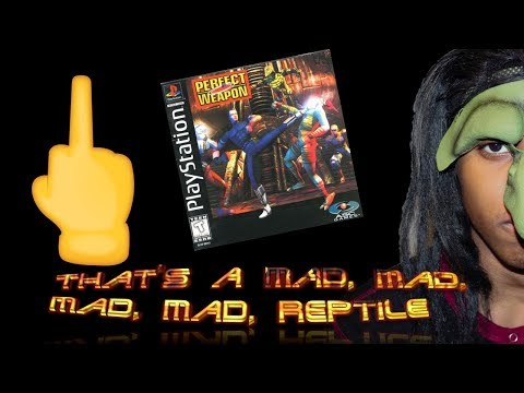 That's a Mad Mad Mad Mad Reptile | S2E4 | PERFECT WEAPON Re-Revisited (PS1)