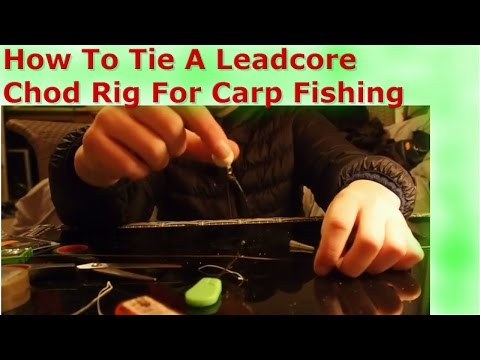 How To: Tie a Leadcore Chod Rig/CCW Fishing/Carp