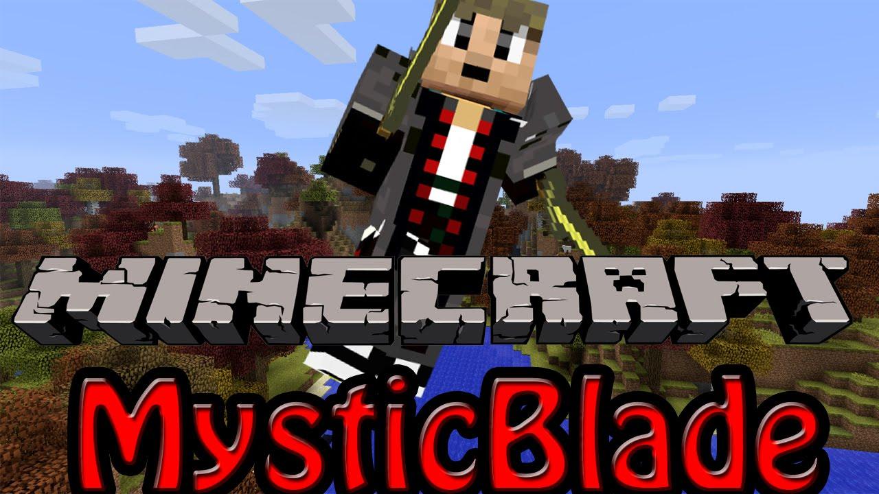 Minecraft RPG ModPack MysticBlade QUESTION BOOK