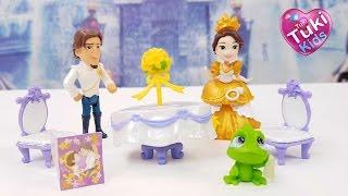 ✿ Свадьба РАПУНЦЕЛЬ Анютка делает кексы и вафли для гостей Рапунцель Rapunzel wedding playset