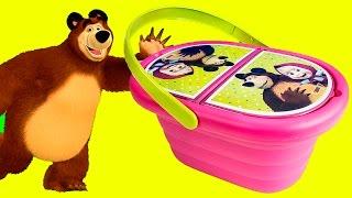 Play Doh Masha and The Bear Picnic Basket ( Маша и Медведь)