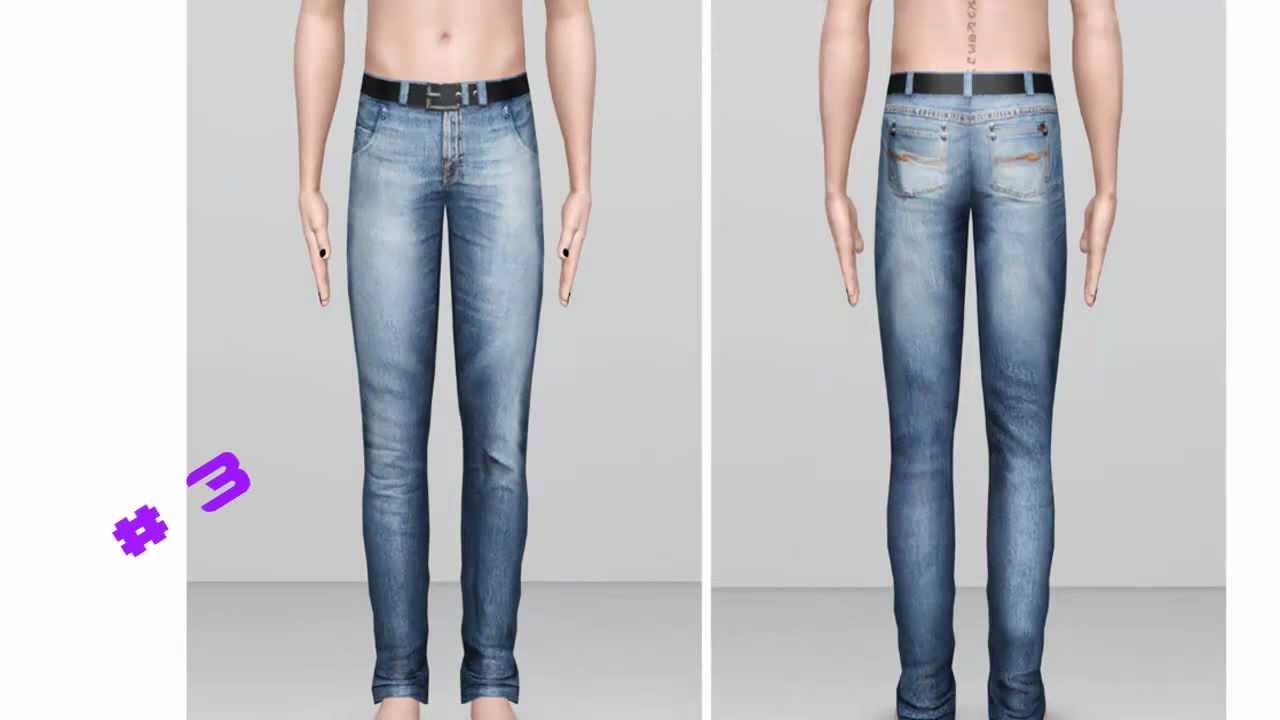 The sims 3 ( Male Pants)