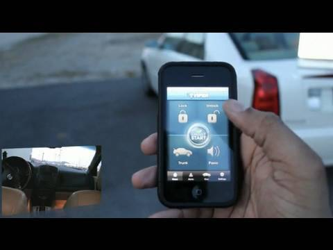 Start Your Car With An Iphone Youtube