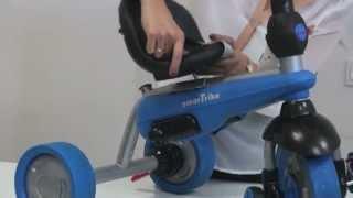 Smart-Trike™ Dream сборка велосипеда.(Сколько времени требуется, чтобы собрать обычный трёхколёсный велосипед? 30-40 минут?? Может быть час? Для..., 2013-01-09T20:58:25.000Z)