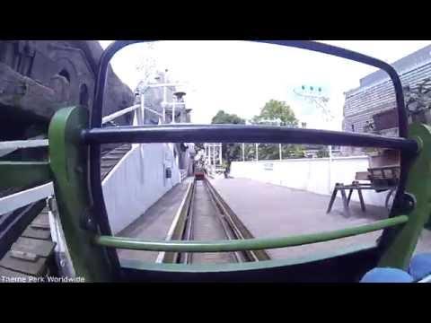 Rutschebanen Front Row On Ride HD POV Tivoli Gardens