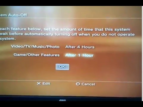 Ps3 turn off when updating