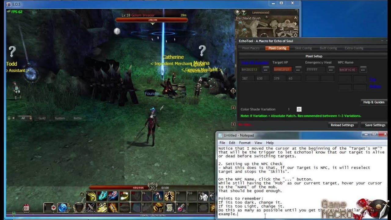 Bot Echo of Soul Bot v1 9 9 4 for Server Indonesia, North America