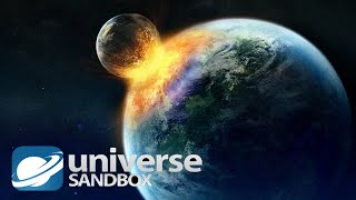 earth vs all planet beautiful destruction universe sandbox