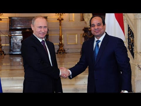 Putin and  Egypt's Sisi make joint statement