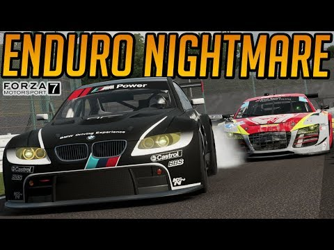 Forza 7 Endurance Lobby Nightmares