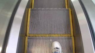 Single-File Dover Escalators @ J&R Music and Computer World (1 Park Row), New York, NY