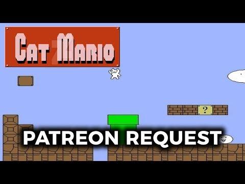 Patreon Request: Mangs Plays Cat Mario