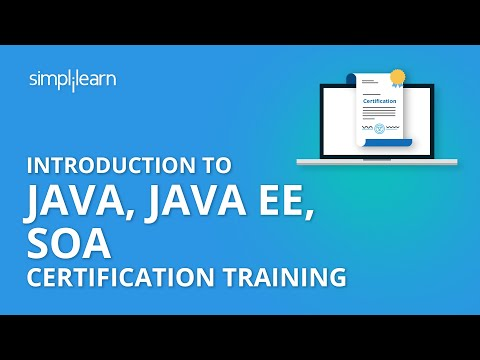 Java Certification Course   Online Java Training - Simplilearn