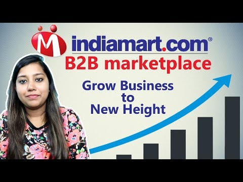 Indiamart B2B marketplace| Benefit of Indiamart for Buyers and Suppliers| Grow with IndiaMart Part-1