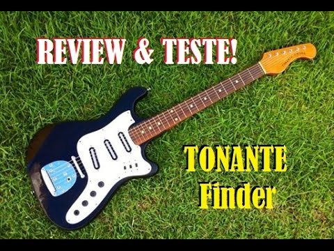 Review Guitarra Tonante Finder