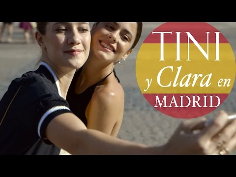 De paseo por Madrid y maquillaje con Clara Alonso! #TiniYClaraEnMadrid | TINI