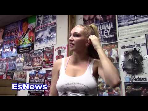 Kendra Sutherland Is In Amazing Shape With Coach Dwayne Esnews Boxing