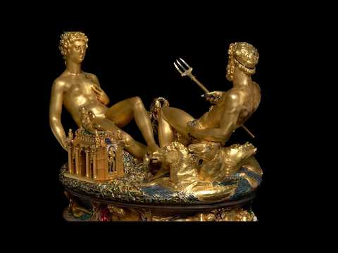 100 Meisterwerke - Die Saliera - Benvenuto Cellini