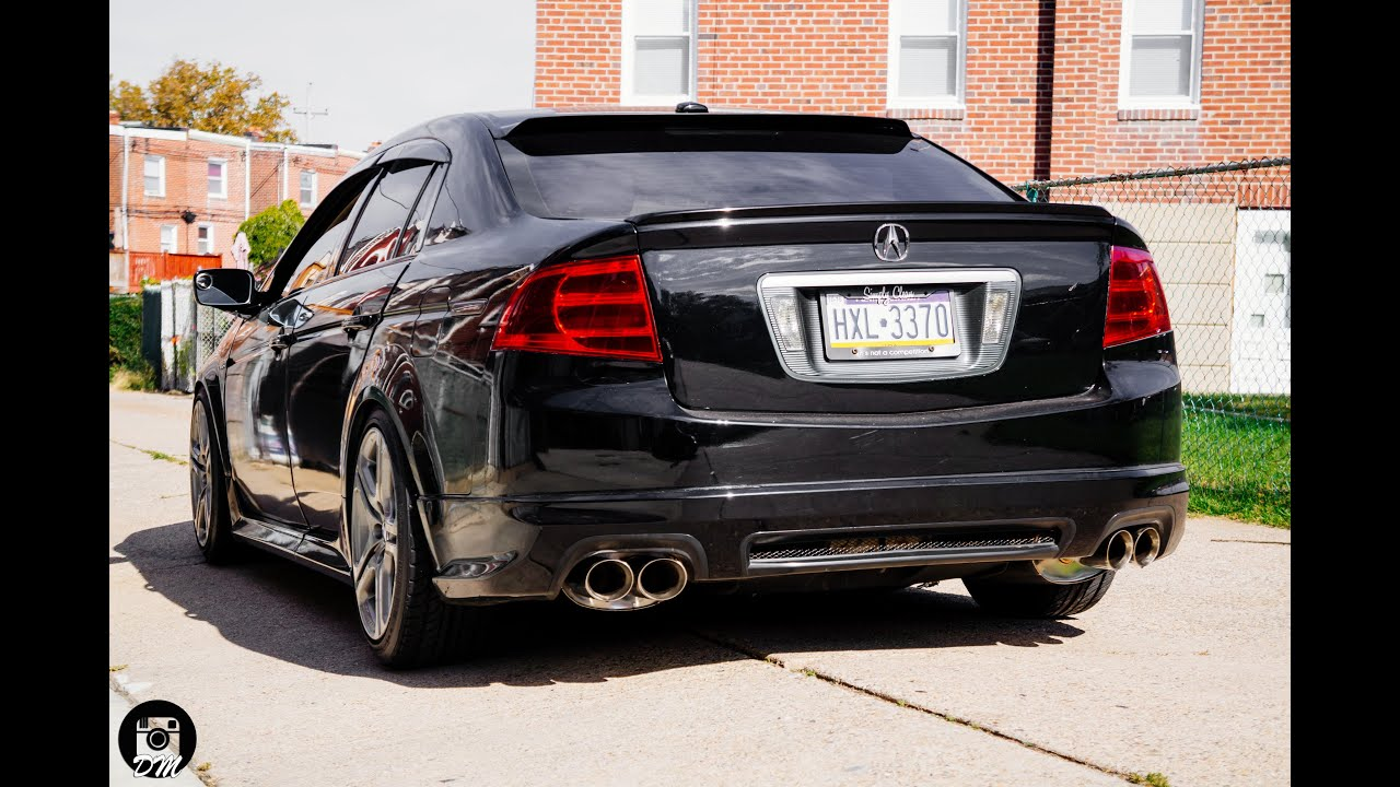 tsudo acura 2007 08 tl type s catback exhaust with tsudo. Black Bedroom Furniture Sets. Home Design Ideas