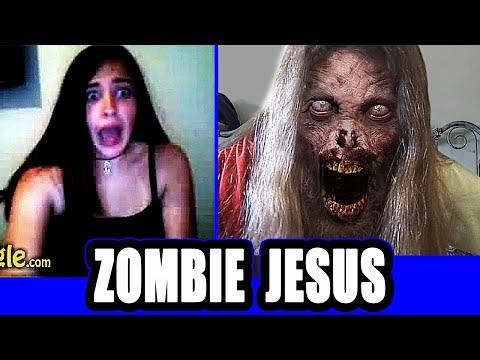 Zombie Jesus scare on Omegle !