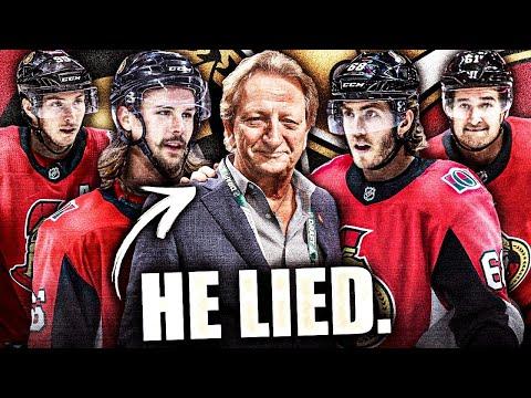 Eugene Melnyk ADMITS TO LYING About Trading Top Ottawa Senators Players (Karlsson, Stone, Etc.) NHL