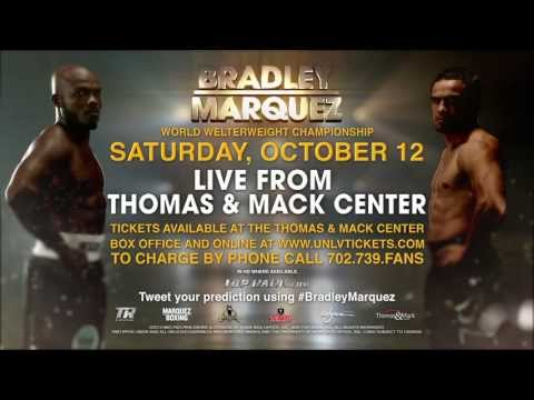 Bradley vs. Marquez - October 12, 2013 - Thomas & Mack Center