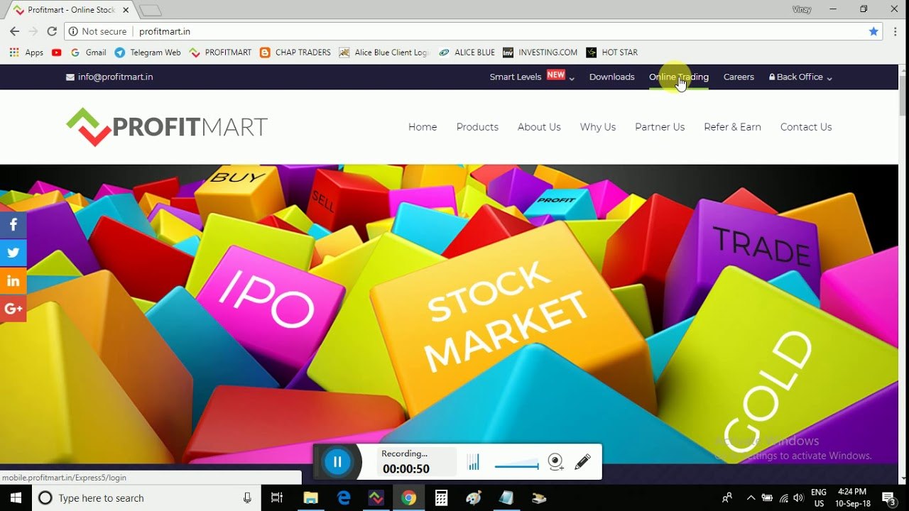 Start Your Trading Career With Profitmart