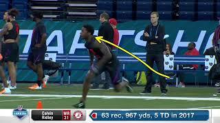 NFL Wr Tips: Calvin Ridley's route Breakdown