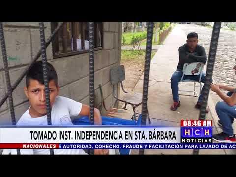 ¡Estudiantes Se Toman El Inst. La Independencia En Apoyo A La Lucha Magisterial En Santa Bárbara!