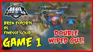 How to Wipe Them Out Twice? Bren Esports vs Finesse Solid | MPL-PH Season2 week3 day2