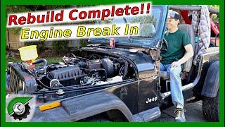 New Engine Break In. Flat Tappet Cam: Engine Rebuild Part 31