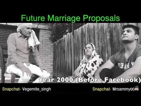 2000 vs 2030 ਰਿਸ਼ਤੇ   Latest Video Vegemite Singh   Mr Sammy Naz