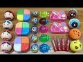 MIXING MAKEUP AND FLOAM INTO STORE BOUGHT SLIME!!! RELAXING SLIME WITH FUNNY BALLOONS