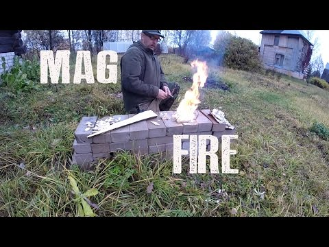 Magnesium Block Fire