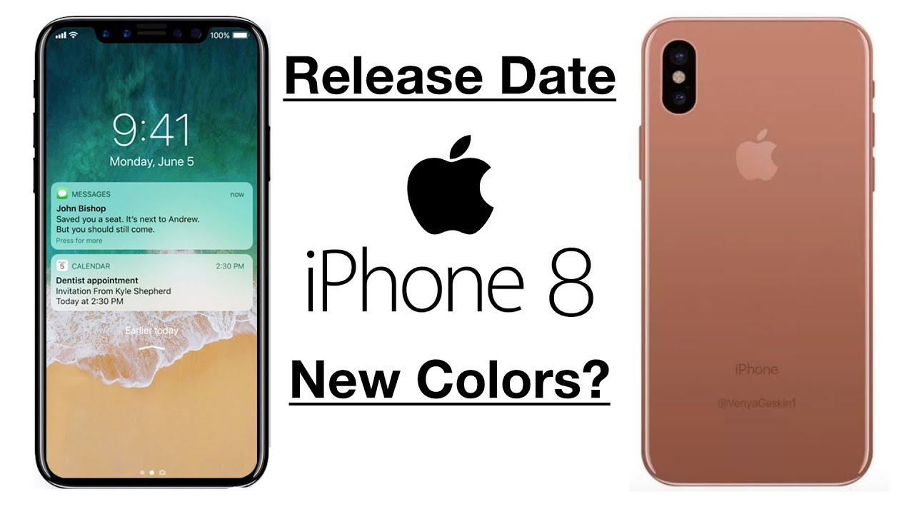 IPhone 8 Release Date Update