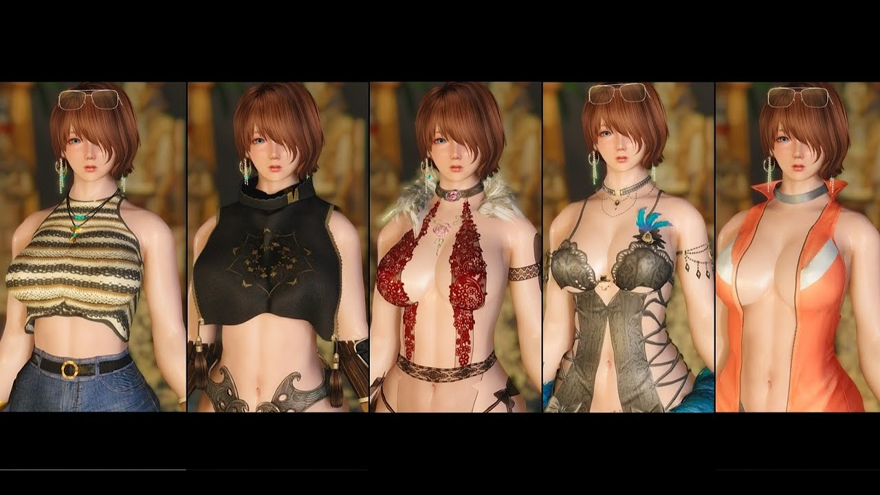 [FapZone] Outfit Collection BodySlide support - Skyrim