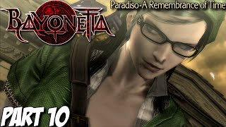 Bayonetta Gameplay Walkthrough Part 10 - Paradiso - A Remembrance of Time - Wii U