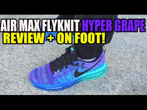 """Hyper Grape"" Nike Air Max Flyknit Max Review + On Foot"