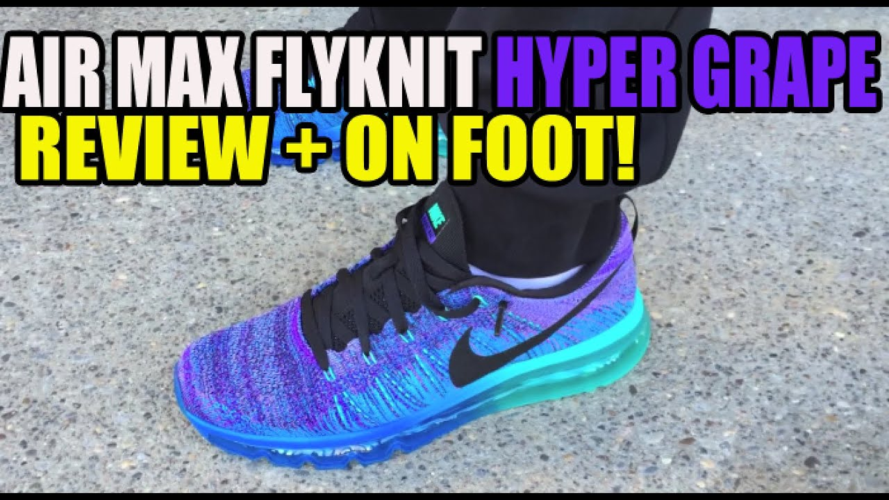 New Colorways Of The Nike Flyknit Air Max Are Coming This Fall