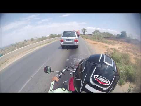 Retornando a Luanda   Angola pelo litoral sul de Hyosung ST7
