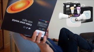 Philips Hue: A lámpa, ami okosabb néhány havernál! + ÖRÜLETES NYEREMÉNY!!!