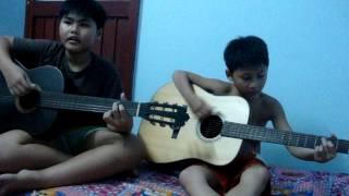Liên khúc guitar Đôi Chân Trần-Quê Hương Việt Nam-Nồng Nàn Hà Nội