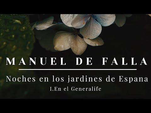 Falla noches en los jardines de espana i en el for Los jardines de arbesu