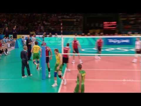 (HD) Murilo Huge Kill - Volleyball